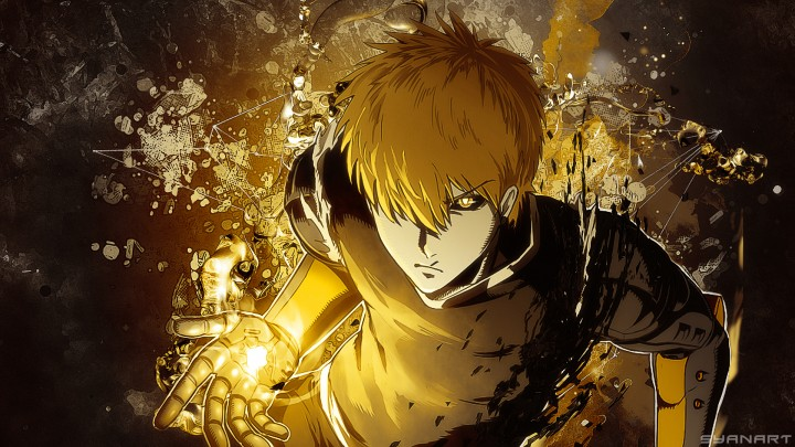 One-Punch Man – Genos FullHD Wallpaper