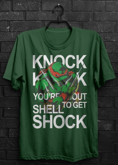 TMNT Raffael Shell Shock T-Shirt