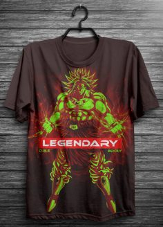 DBZ Broly Legendary t-shirt