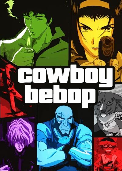 Cowboy Bebop poster print artwork