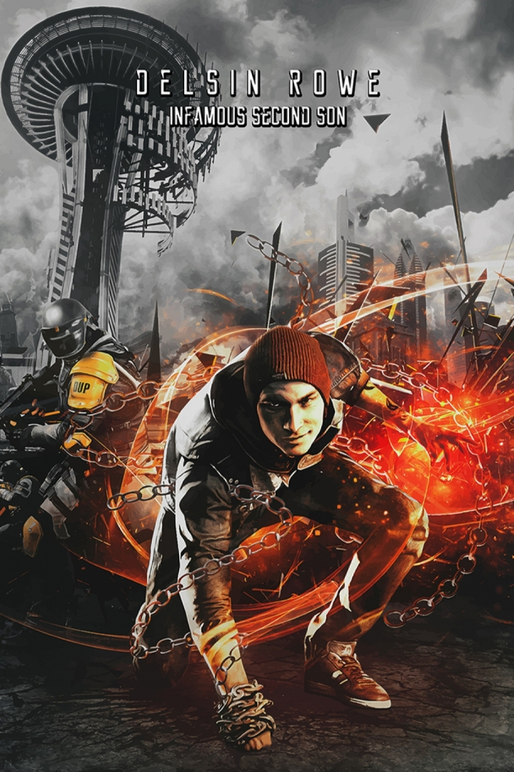 InFamous Second Son Delsin Poster