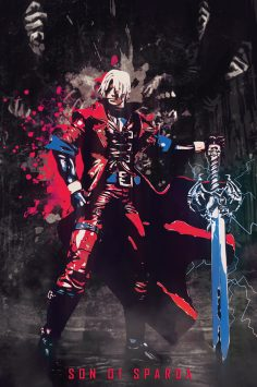 Best Gaming Characters Poster Collection – Dante