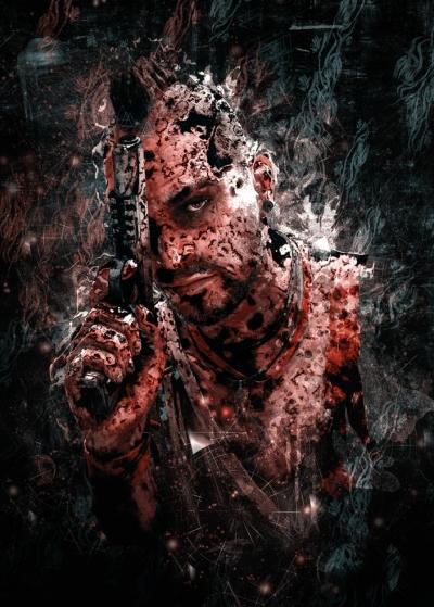 Far Cry 3 Vaas Montenegro SyanArt Poster