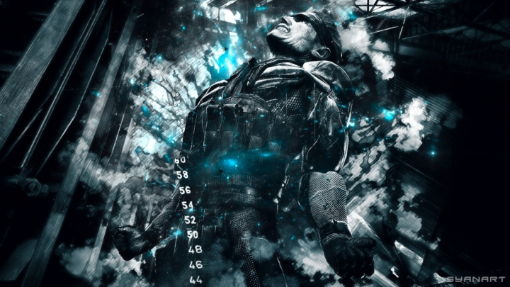 Metal Gear Solid 4 Abstract fullDH Wallpaper Snake