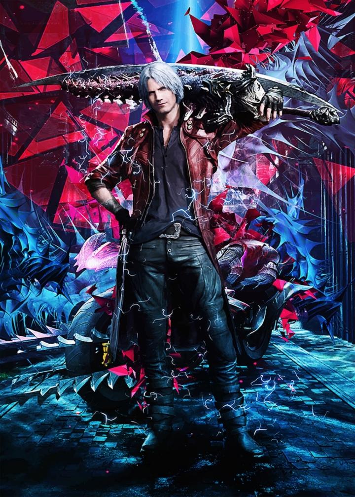 Devil May Cry V Dante Poster Print