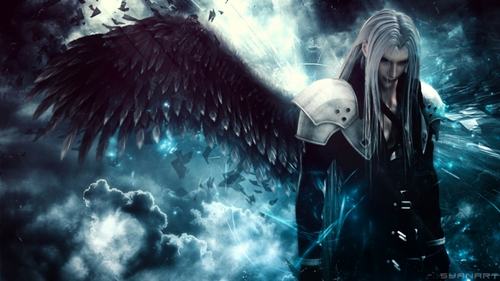 Final Fantasy Sephiroth Wallpaper Syanart Station