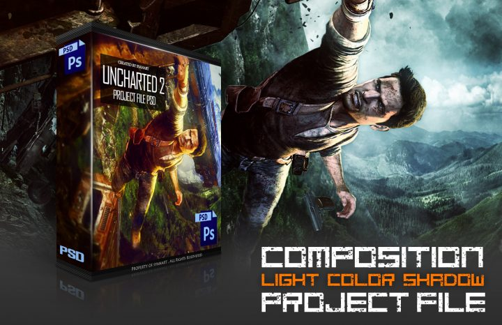 PSD Project – Uncharted 2 color and composition