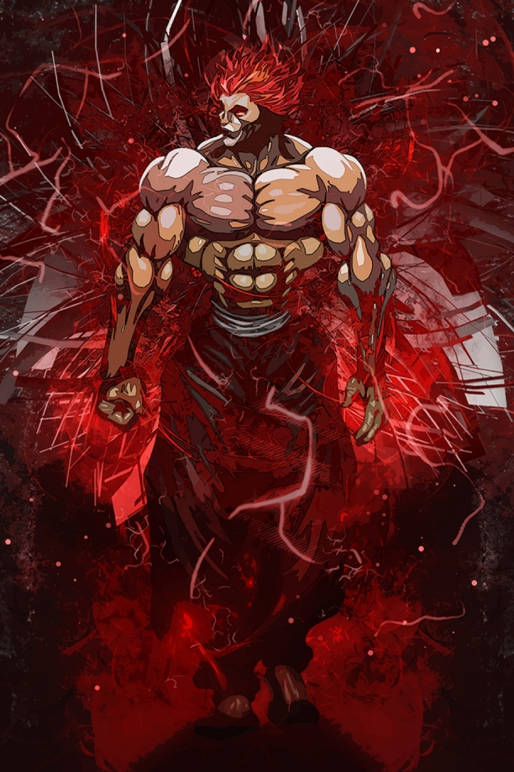 Yujiro Hanma The king poster print